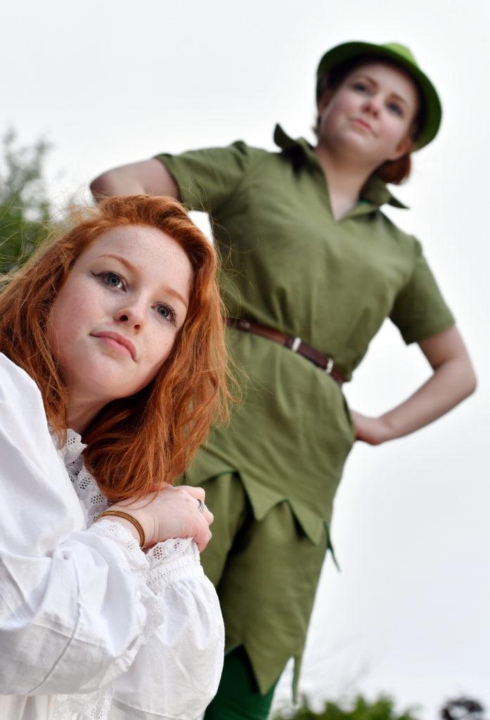 Lexie Butler as Wendy Peter Pan, played by Caroline Martin