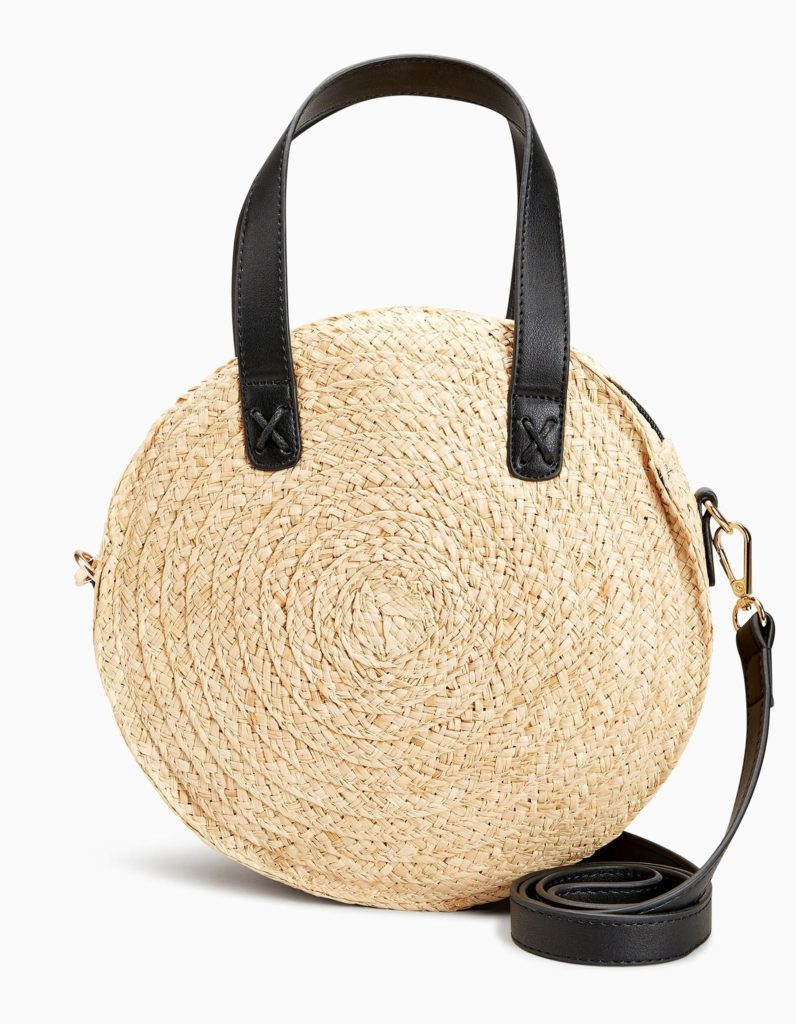 zara, next straw bag, beach accessory