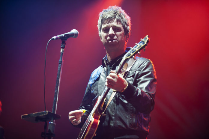 Noel Gallagher's High Flying Birds perform at the AECC. Picture by Andy Thorn.
