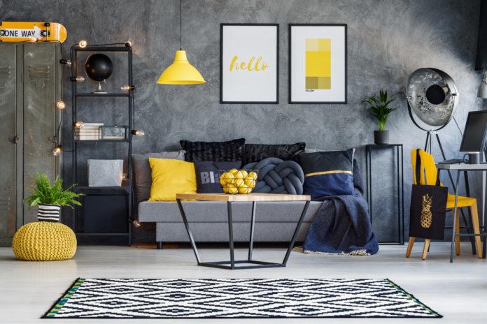 yellow homeware, homestyle trend