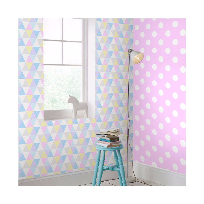 pastel home style trend wallpaper