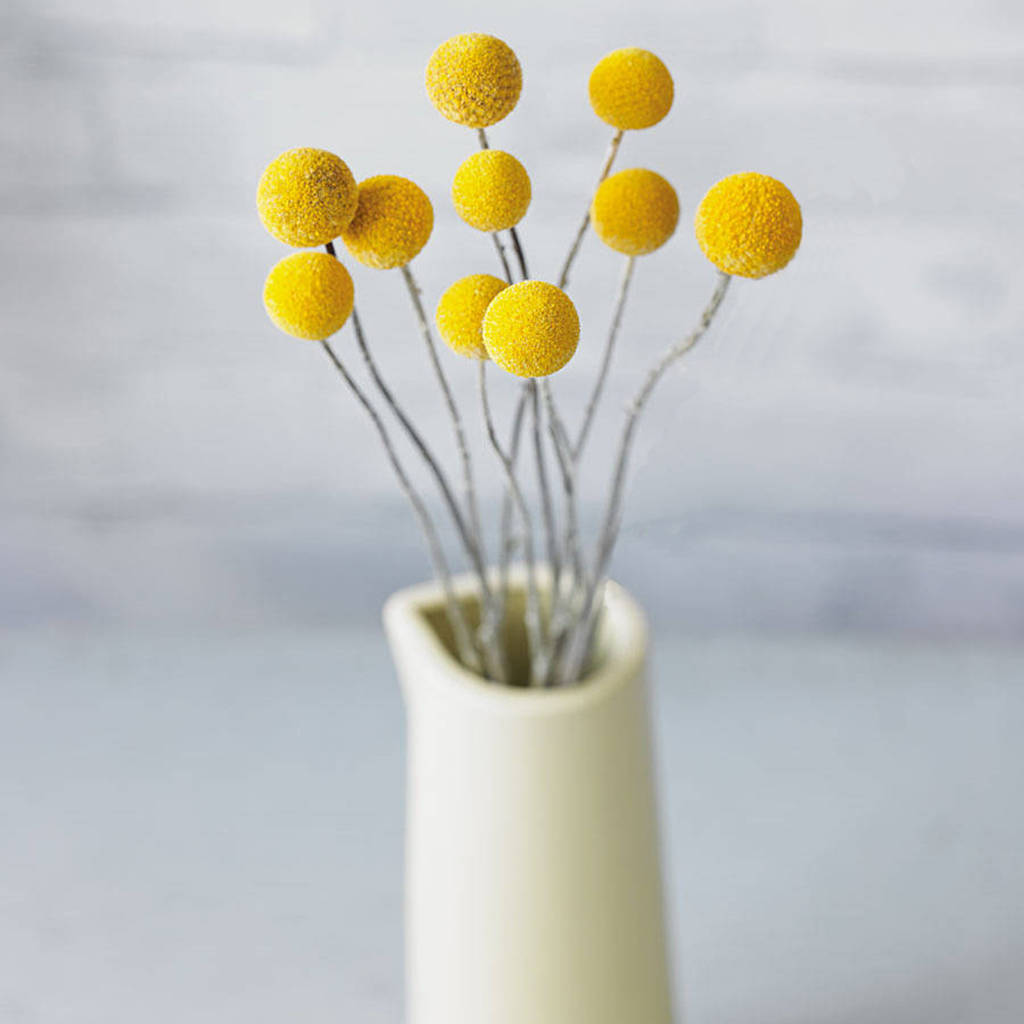 yellow homeware, sunny home style trend flower