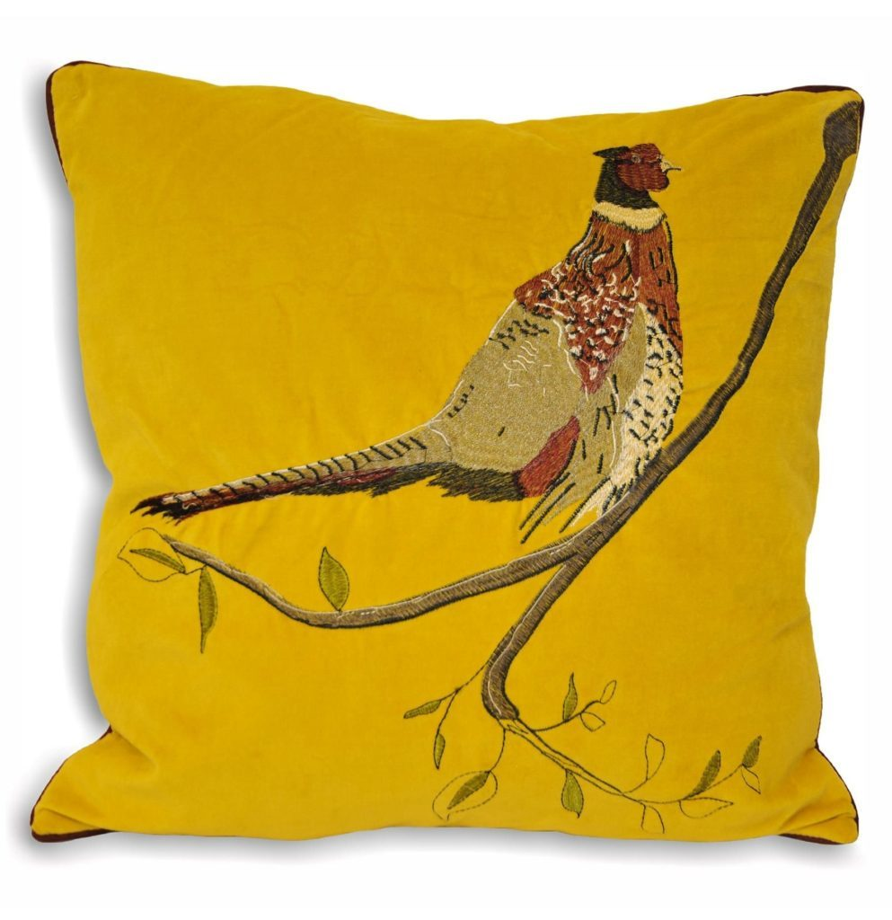 yellow cushion trend
