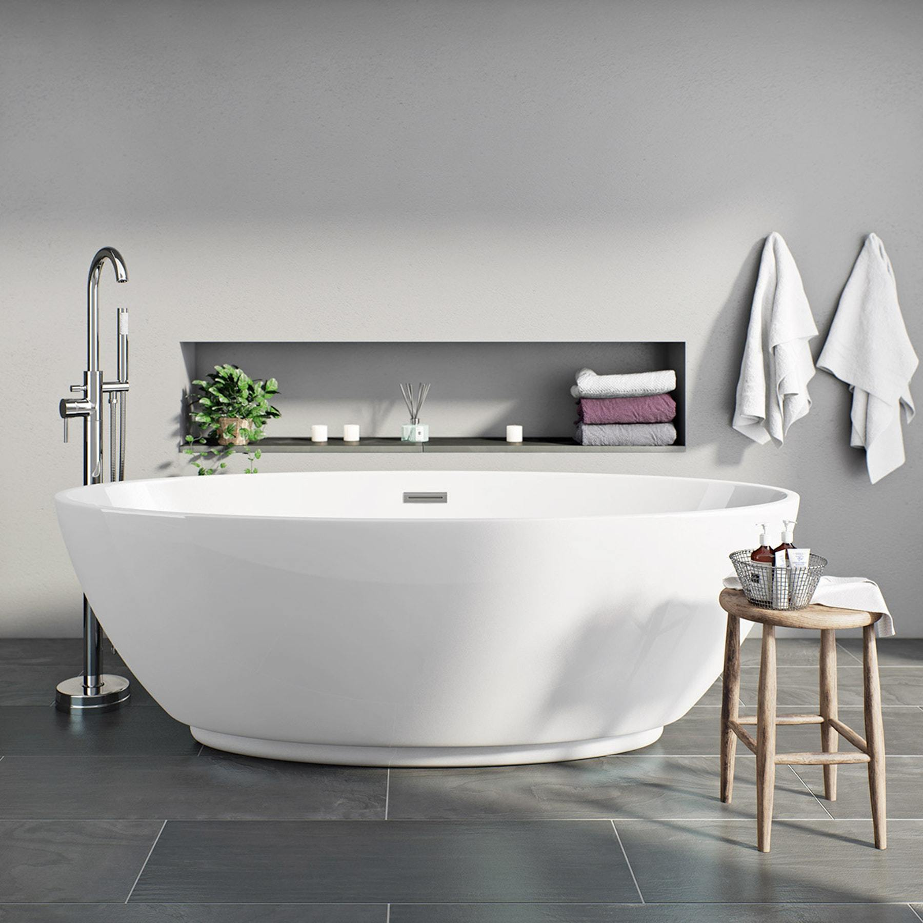 Mode Harrison Freestanding Spa Bath