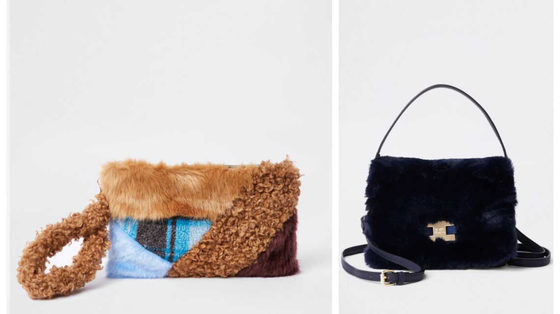 f7b63d0dabf1 Fluffy faux fur handbags you should buy right now ready for the ...