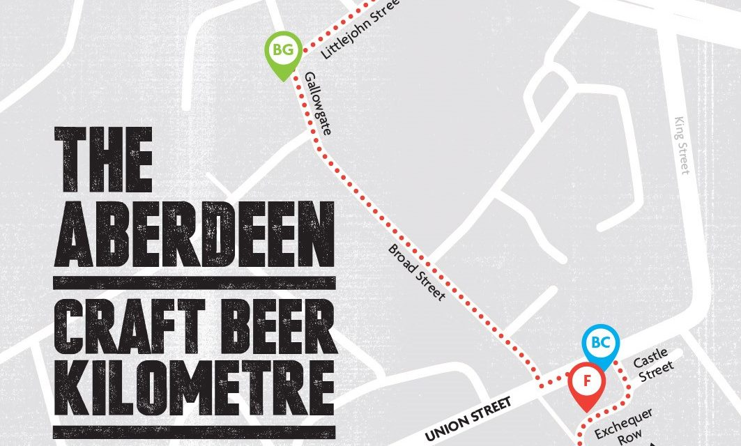 Brewery creates Aberdeen craft beer map - Society