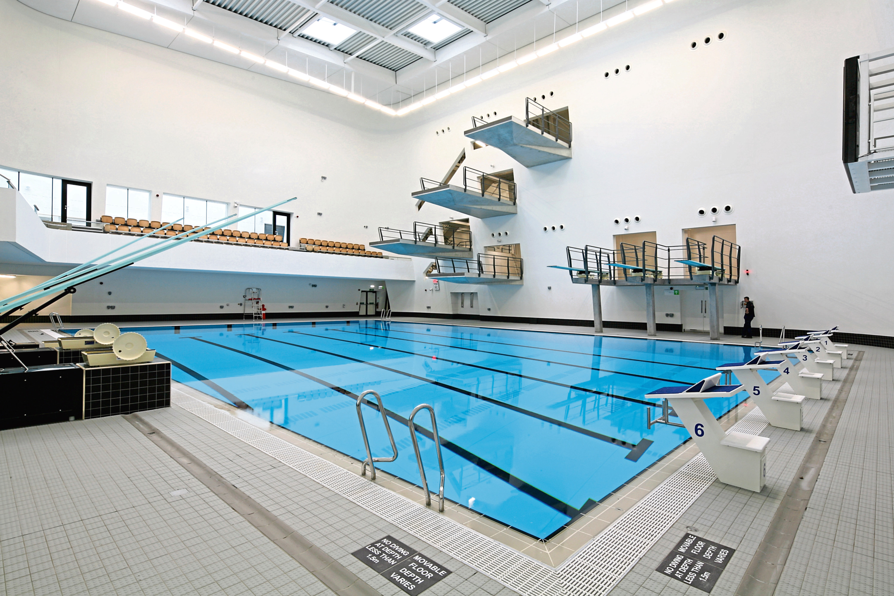 Dive in and get fit in Aberdeen Sports Village Aquatics Centre - Society