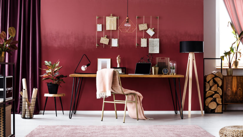 pink red homeware valentine's day