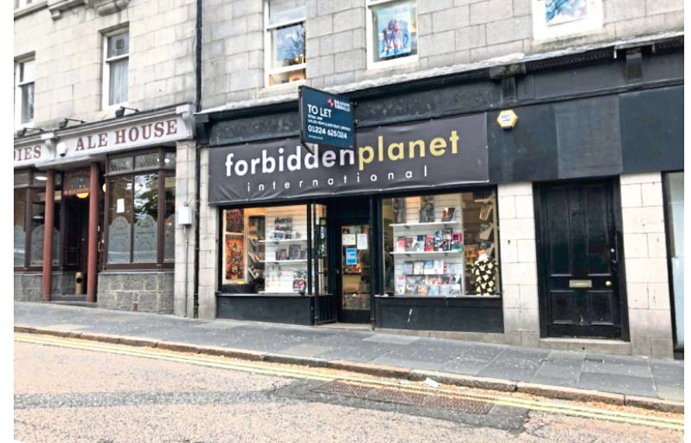Closure Plan For Aberdeen Comic Book Shop Revealed