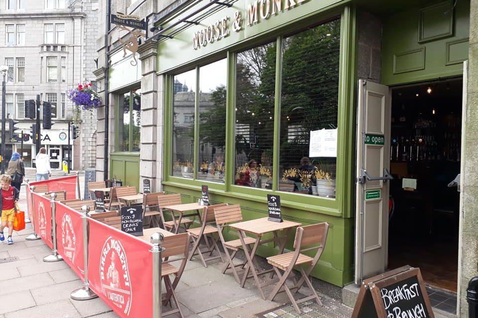Aberdeen Bar Offers New Al Fresco Dining Spot Society