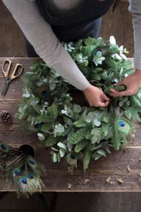 Where to make your own Christmas wreaths in the north-east