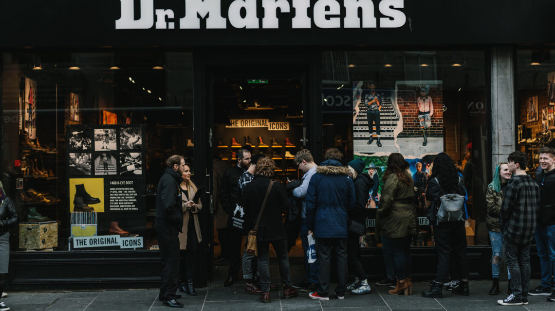 cheap for sale huge sale united kingdom Give suicide the boot at Aberdeen's Dr. Martens store event ...