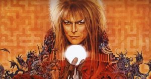 See David Bowie's film Labyrinth in Aberdeen